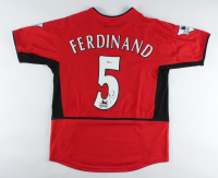 Rio Ferdinand Signed Manchester United Jersey (Beckett COA) at PristineAuction.com