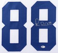Michael Irvin Signed 35x43 Custom Framed Jersey (Beckett COA) at PristineAuction.com