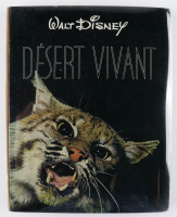 """Walt Disney Signed """"Desert Vivant"""" Hardcover Book Inscribed """"With My Very Best"""" (Beckett LOA & PSA LOA) at PristineAuction.com"""