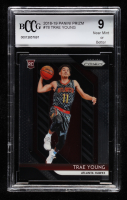 Trae Young 2018-19 Panini Prizm #78 RC (BCCG 9) at PristineAuction.com