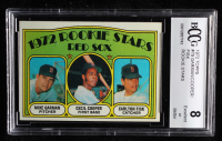 Mike Garman / Cecil Cooper / Carlton Fisk 1972 Topps #79 Rookie Stars RC (BCCG 8) at PristineAuction.com