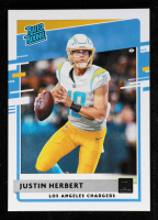 Justin Herbert 2020 Donruss #303 RR RC at PristineAuction.com