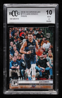 Luka Doncic 2018-19 Panini Chronicles #111 (BCCG 10) at PristineAuction.com