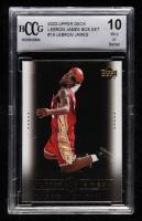 LeBron James 2003 Upper Deck LeBron James Box Set #18 (BCCG 10) at PristineAuction.com