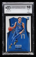 Luka Doncic 2018-19 Panini Threads #141 ICON (BCCG 10) at PristineAuction.com