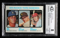 Ron Cey / John Hilton / Mike Schmidt 1973 Topps #615 Rookie Third Basemen RC (BCCG 8) at PristineAuction.com