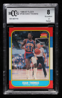 Isiah Thomas 1986-87 Fleer #109 RC (BCCG 8) at PristineAuction.com
