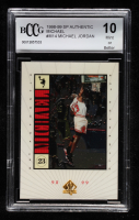 Michael Jordan 1998-99 SP Authentic MICHAEL #M14 (BCCG 10) at PristineAuction.com