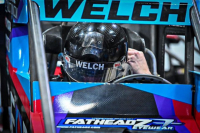 Dillon Welch Signed & Race-Used 2021 Chili Bowl Car Nameplate (PA COA) at PristineAuction.com