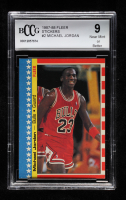 Michael Jordan 1987-88 Fleer Stickers #2 (BCCG 9) at PristineAuction.com