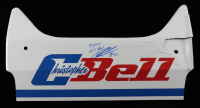 "Christopher Bell Signed & Race-Used 2021 Chili Bowl Car Nameplate Inscribed ""2021 Chili Bowl"" & ""84x"" (PA COA) at PristineAuction.com"