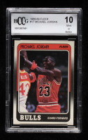 Michael Jordan 1988-89 Fleer #17 (BCCG 10) at PristineAuction.com