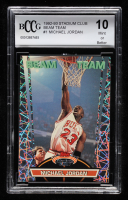 Michael Jordan 1992-93 Stadium Club Beam Team #1 (BCCG 10) at PristineAuction.com