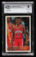 Allen Iverson 1996-97 Topps #171 RC (BCCG 9) at PristineAuction.com
