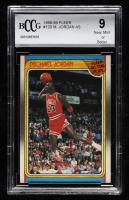 Michael Jordan 1988-89 Fleer All-Star #120 (BCCG 9) at PristineAuction.com