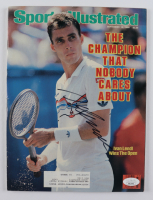Ivan Lendl Signed Sports Illustrated Magazine (JSA COA) (See Description) at PristineAuction.com
