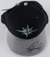 Ken Griffey Jr. Signed Mariners New Era Fitted Hat (JSA Hologram) at PristineAuction.com