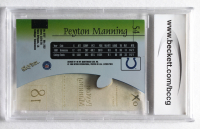 Peyton Manning 1998 E-X2001 #54 RC (BCCG 9) at PristineAuction.com