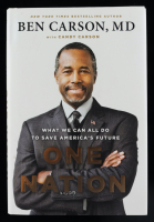 "Ben Carson Signed ""One Nation"" Hardcover Book (JSA COA) at PristineAuction.com"