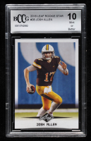 Josh Allen 2018 Leaf Rookie Star #08 (BCCG 10) at PristineAuction.com