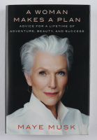 "Maye Musk Signed ""A Woman Makes A Plan"" Hardcover Book (JSA COA) at PristineAuction.com"