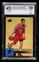 Stephen Curry 2009-10 Upper Deck #234 SP RC (BCCG 10) at PristineAuction.com