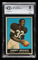 Jim Brown 1961 Topps #71 (BCCG 8) at PristineAuction.com