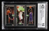 Dwyane Wade 115 / LeBron James 111 / Chris Bosh 114 2003-04 Topps Rookie Matrix #WJB RC (BCCG 10) at PristineAuction.com