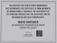 Mikko Rantanen Signed Avalanche Jersey (COJO COA) at PristineAuction.com