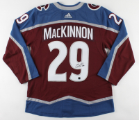 Nathan MacKinnon Signed Avalanche Jersey (COJO COA) at PristineAuction.com