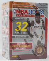 2019-20 NBA Hoops Premium Stock Basketball Blaster Box with (32) Cards (See Description) at PristineAuction.com
