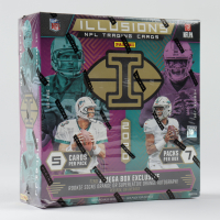 2020 Panini Illusions Football Mega Box with (7) Packs at PristineAuction.com