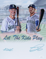 Jarred Kelenic & Julio Rodriguez Signed Mariners 11x14 Photo (JSA COA) at PristineAuction.com