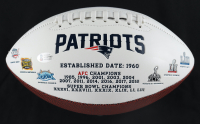Chase Winovich Signed Patriots Logo Football (Beckett COA) at PristineAuction.com
