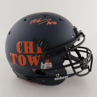 """Mike Singletary Signed Full-Size Authentic On-Field Helmet Inscribed """"HOF 98"""" (Beckett COA) at PristineAuction.com"""