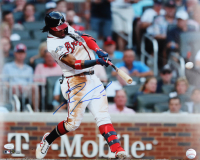 Ronald Acuna Jr. Signed Braves 16x20 Photo (JSA COA) (See Description) at PristineAuction.com