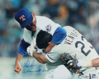 """Nolan Ryan Signed Rangers 16x20 Photo Inscribed """"Don't Mess With Texas"""" (Beckett COA, AIV Hologram, & Ryan Hologram) at PristineAuction.com"""
