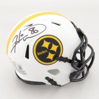 Hines Ward Signed Steelers Lunar Eclipse Alternate Speed Mini Helmet (Beckett Hologram) at PristineAuction.com