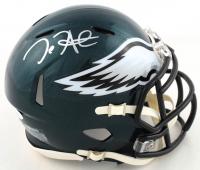 Jalen Hurts Signed Eagles Speed Mini Helmet (JSA COA) at PristineAuction.com