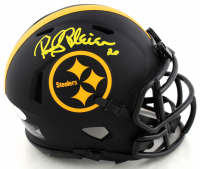 Rocky Bleier Signed Steelers Eclipse Alternate Speed Mini Helmet (JSA COA) at PristineAuction.com