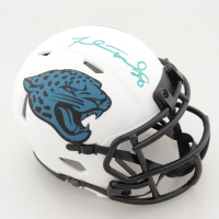Fred Taylor Signed Jaguars Lunar Eclipse Alternate Speed Mini-Helmet (Beckett COA) at PristineAuction.com