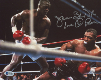 "James ""Buster"" Douglas Signed 8x10 Photo Inscribed ""Love Peace"" (Beckett COA) at PristineAuction.com"