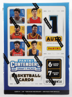 2020 Panini Contenders Draft Picks Basketball Card Blaster Box with (7) Packs at PristineAuction.com