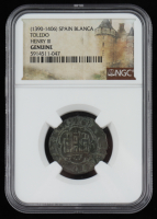 1390-1406 Henry III Spain Blanca Toledo mint (NGC Genuine) at PristineAuction.com