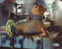 "Howie Hammerman Signed ""Return of the Jedi"" 8x10 Photo Inscribed ""Jabba's Burp"" (Beckett COA) at PristineAuction.com"