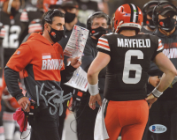 Kevin Stefanski Signed Browns 8x10 Photo (Beckett COA) at PristineAuction.com
