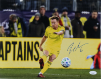 Dax McCarty Signed Nashville SC 11x14 Photo (JSA COA) at PristineAuction.com