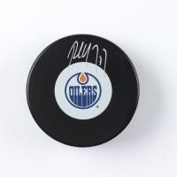 Paul Coffey Signed Oilers Logo Hockey Puck (COJO COA) at PristineAuction.com
