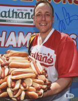 Joey Chestnut Signed 8x10 Photo (Beckett COA) at PristineAuction.com