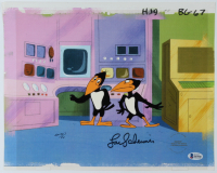 """Lou Scheimer Signed """"Heckle & Jeckle"""" 11x14 Original (2) Piece Hand Painted Animation Cel (Beckett COA) at PristineAuction.com"""